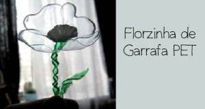 Florzinha de garrafa PET passo a passo