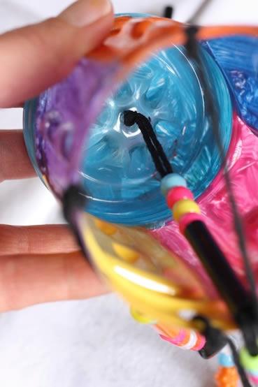 Decoração para o Dia das Crianças com reciclagem de garrafa PET