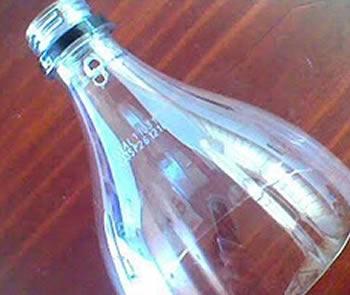 Artesanato com garrafa PET passo a passo