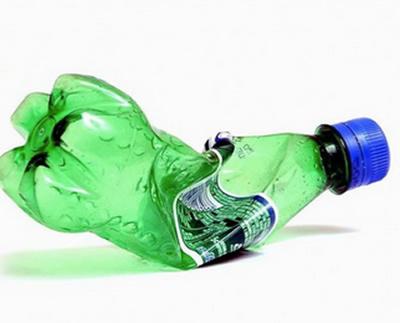 Porta-bijuteria com garrafa PET passo a passo