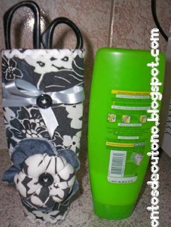 Dicas para Fazer Artesanato com Embalagem de Shampoo