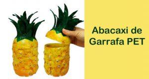 Como fazer abacaxi de Garrafa PET