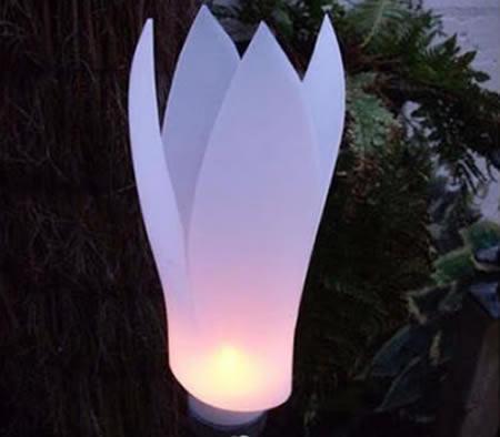 Luminária com Garrafa de Amaciante Passo a Passo