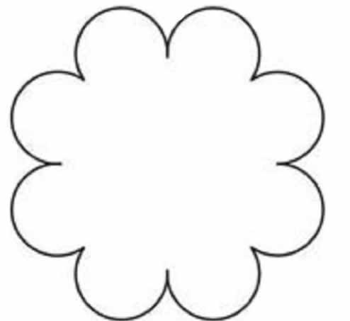 Molde para Flores em EVA