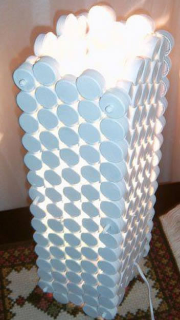 Artesanato com Tampinhas de Garrafa PET