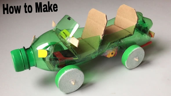 how to build a simple robot car