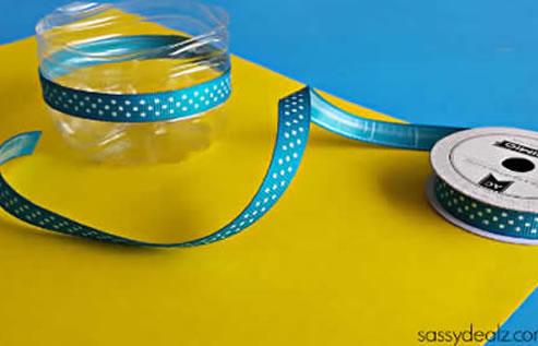 Lembrancinhas com Garrafa PET para Dia das Crianças