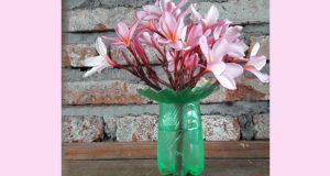 Garrafa PET Vaso de Flor passo a passo - Fácil de fazer