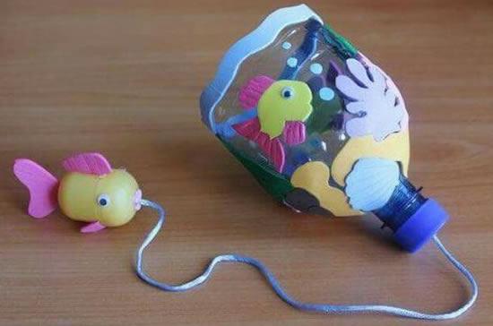 Brinquedos Criativos com Garrafa PET