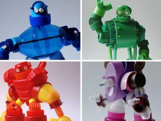 Brinquedos de garrafa PET