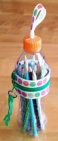 Estojos de garrafa pet