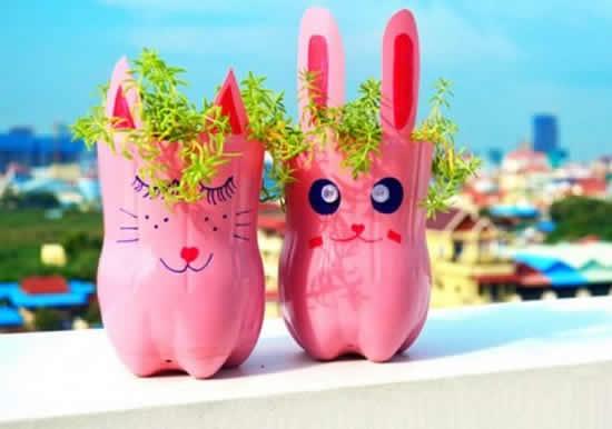Vasos de bichinhos lindos