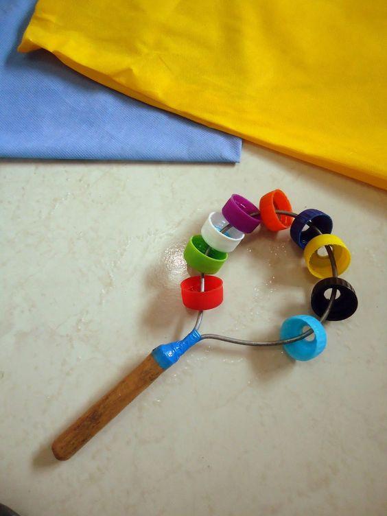 Brinquedos educativos reciclados